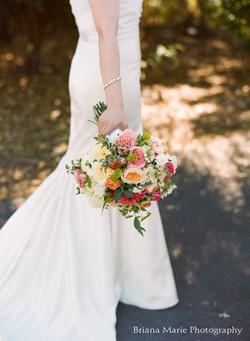 Solage Calistoga wedding bouquet
