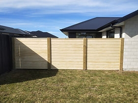 Privacy Screen Wooden Fence