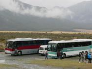 #126 & 127 (in red & grey) at Waimakarir