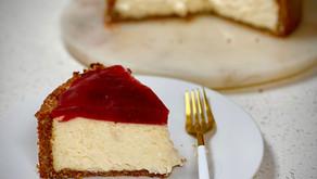 Cheesecake sin gluten y sin horno