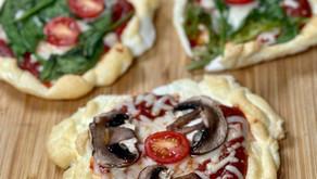 Pizza con masa de claras