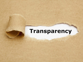 TRANSPARENCY NOW: Are you having your voice?
