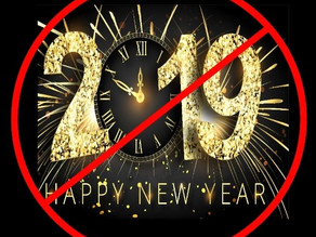 DON'T MAKE A NEW YEAR'S RESOLUTION!