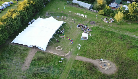 Kubbfest from above