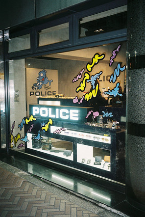 POLICE TOKYO  collaboration