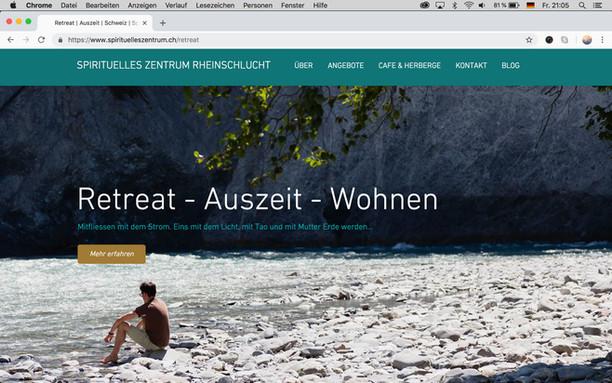 Spirituelles Zentrum Rheinschlucht SPIRITUAL CENTER