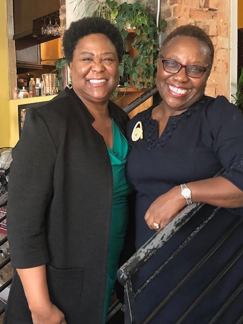 Dr. Bromell-Tinubu & Council Pres Felecia Moore