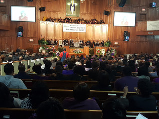 """A Fond Farewell to Atlanta's """"News Lady"""" Steen Miles at Her CELEBRATION OF LIFE services"""