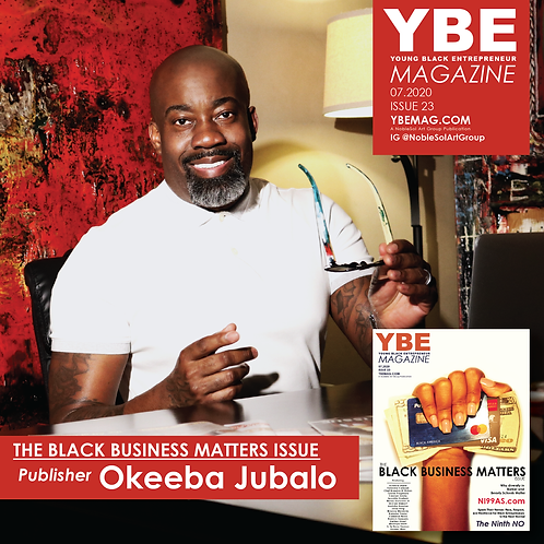 YBE Digital Download - The Black Business Matters Issue
