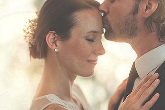Hochzeit, Kuss, Trauung