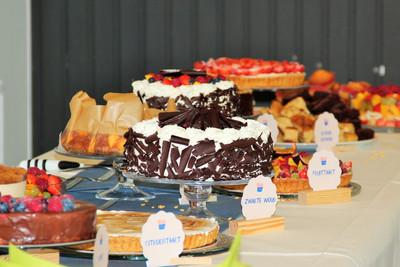 buffet babyborrel - taarten MAJA - smaak