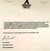 Diamond Backs - BEMER letter