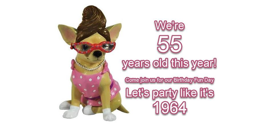 55th Birthday Party Extravaganza!