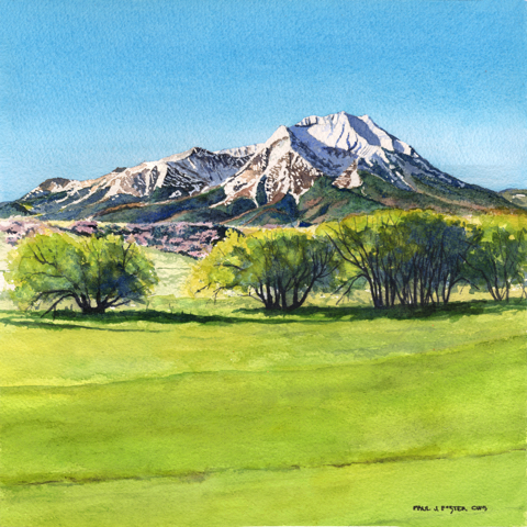 Springtime W.Spanish Peak