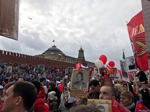 Участие ЦМП в шествии «Бессмертного полка» 9 мая в Москве