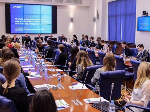 """Открытая лекция Р. Чукова на конференции """"Большая Европа и перспективы сотрудничества России и"""