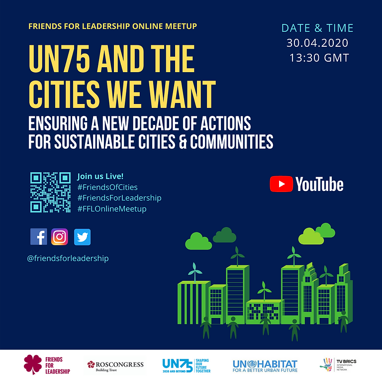 FFL Online Meetup: UN75 and Cities We Want