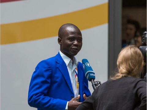 Samuel Akinsola: shaping an interconnected world with youth influence is vital to achieve SDGs