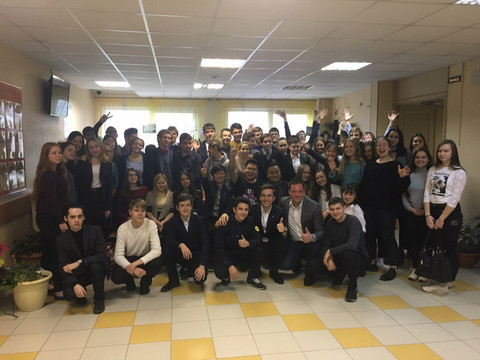 В школах Петербруга был проведен урок на тему ценностей молодежи