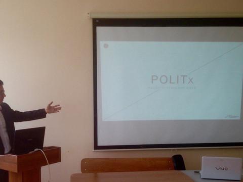 Проекты Центра были представлены на Международном форуме студентов-политологов