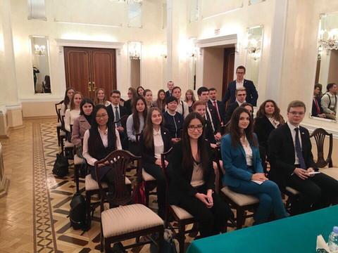 Стратегическая сессия для российских молодых общественных дипломатов