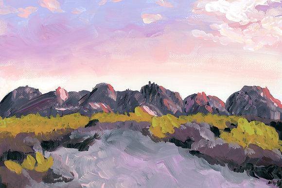 big bend mountains