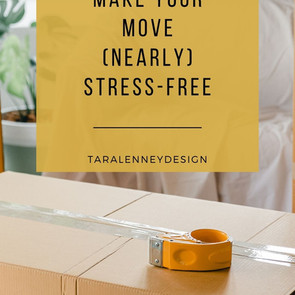 our guide for a (nearly) stress-free move - part 1