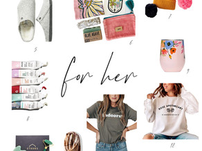 2020 holiday gift guide - gifts for her