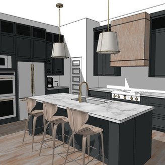 our new house kitchen design