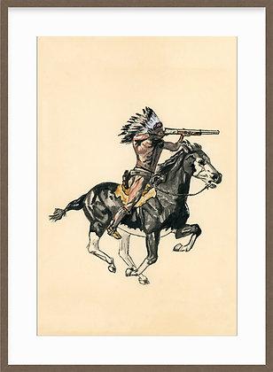 The Warrior Framed