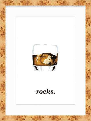 Rocks Framed