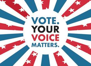 REGISTRATION DEADLINE: Your Voice Matters