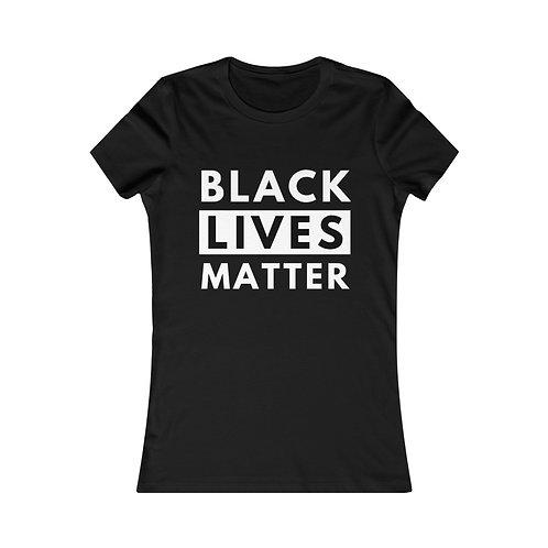 Black Lives Matter Womens Tee