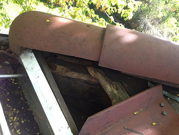 Roof Damage Caused By Raccoons