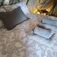 bedroom la cabaña glamping