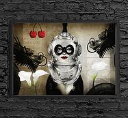 steampunk image print