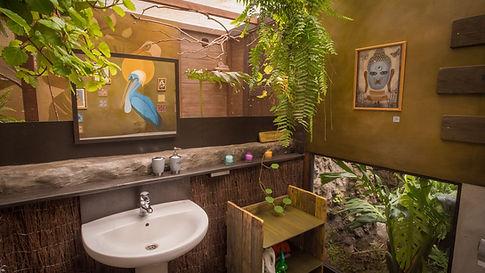 Bathroom La Palma glamping