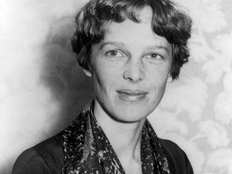 Amelia Earhart (anche se il suo cognome l'ho già visto scritto in diversi modi)