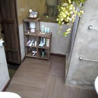 bathroom + shower