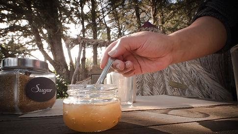 Self service breakfast Glamping in la palma