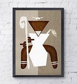 orisha art obatalá print