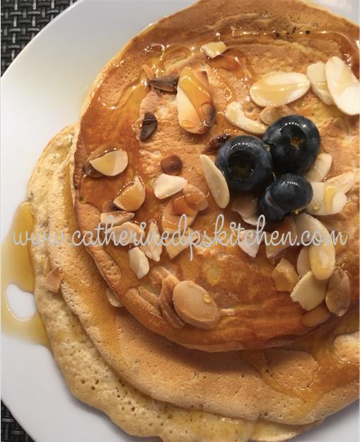 Protein heavy pancakes