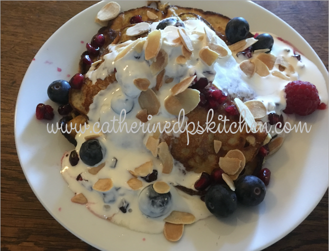 Serious up-grade on the Protein Pancakes