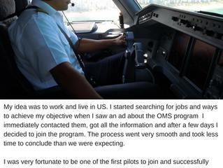 A. Martins, Pilot
