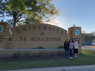 PTs head to St. Augustine University for TherapyEd review