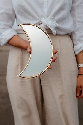 Moon Mirror | Goud