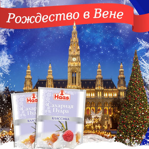 """Организация конкурса """"Рождество в Вене"""" для бренда HAAS"""