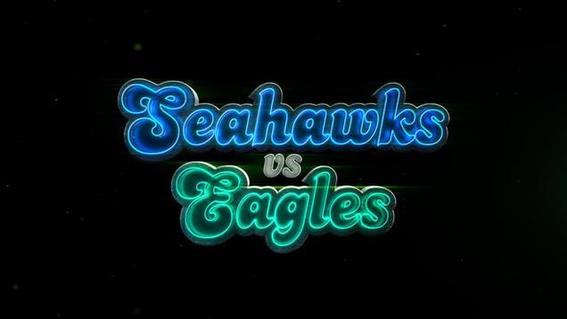 Seahawks vs Eagles for Fox NFL Kickoff Show