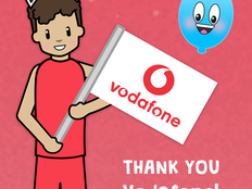 Vodafone & Pop'n'Olly Partnership