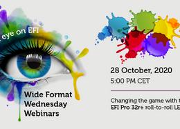 EFI Wide Format Wednesday Webinar